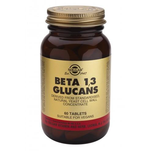 Solgar Beta 1,3 Glucans - 60 Tablets