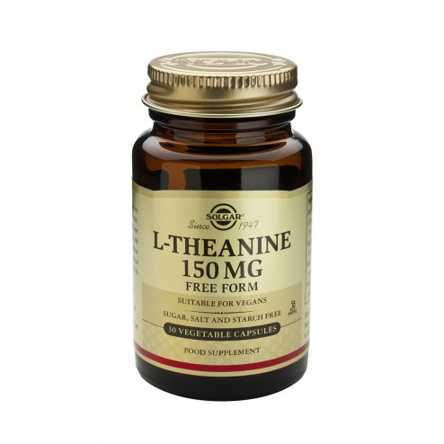 Solgar L-Theanine 150mg - 30 Vegicaps