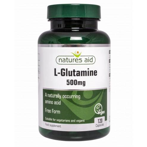 L-Glutamine 500mg(120 VCaps)