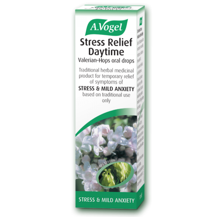 A Vogel Stress Relief Daytime 50ml - Stress, Depression & Anxiety