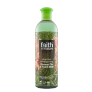 Faith in Nature Aloe Vera & Ylang Ylang Shower Gel & Foam Bath 400ml