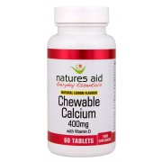 Calcium (Chewable) 400mg (with Vitamin D3) (60 Tabs)