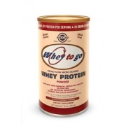 Solgar Whey To Go® Protein Powder Natural Chocolate Flavor