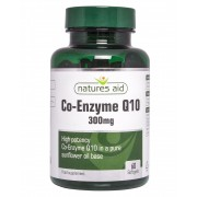 Mega Potency CO-Q-10 300mg (Co Enzyme Q10) (60 Caps)
