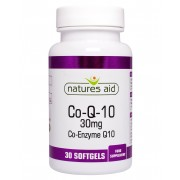 CO-Q-10 30mg (Co-Enzyme Q10) (30 Caps)