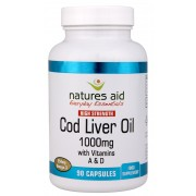 Cod Liver Oil (High Strength) 1000mg (90 Caps)