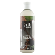 Faith In Nature Coconut Shower Gel & Foam Bath 400ml