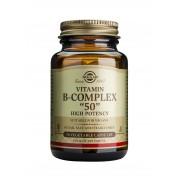 "Solgar Formula Vitamin B-Complex ""50"" : 50 Vegetable Capsules"