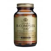 "Solgar Vitamin B Complex ""100"" Extra High Potency: 100 TABLETS"