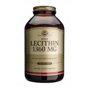 Solgar Lecithin 1360mg: 250 Softgel capsules