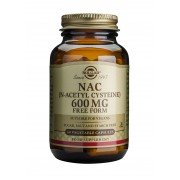 Solgar NAC (N-Acetyl-L-Cysteine) 600mg: 60 vegicaps