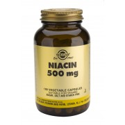 Solgar Niacin (Vitamin B3) 500mg Vegicaps: 100