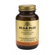 Solgar BCAA Plus (Branched Chain Amino Acids) - 50 Vegetable Capsules