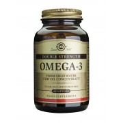 Solgar Omega-3 Double Strength (formerly Omega-3 700) - fish oil - 60 Softgels (Free Form)