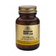 Solgar Biotin 300ug - 100 Tablets