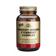 Solgar Bilberry Ginkgo Eyebright Complex: 60 Vegicaps