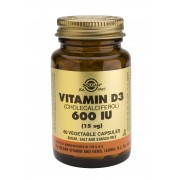Solgar Vitamin D3 600iu : 60 vegetable capsules