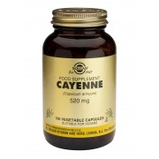Solgar Cayenne - 100 vegetable capsules