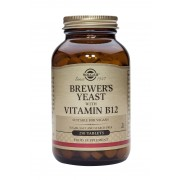 Solgar Brewer's Yeast and Vitamin B12: 250 Tablets