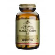 Solgar Chelated Calcium / Magnesium 1:1 - 120 Tablets