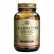 Solgar L-Carnitine 500mg - 60 Tablets