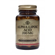 Solgar Alpha Lipoic Acid 200mg: 50 Vegicaps