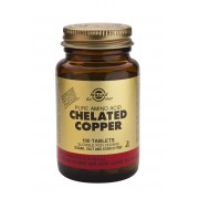 Solgar Chelated Copper: 100 Tablets