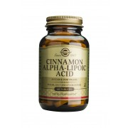 Solgar Cinnamon Alpha Lipoic Acid - 60 tablets