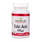 Folic Acid - 400ug (90 Tabs)
