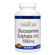 Natures Aid Glucosamine Sulphate 1000mg (with Vitamin C) (180 Tabs) [Buy 1 Get 1 Free]