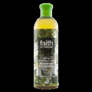 Faith In Nature Hemp & Meadowfoam Shower Gel & Foam Bath 400ml
