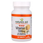 Vitamin C 1000mg Low Acid (with Rosehips & Citrus Bioflavonoids) (30 Tabs)