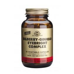 Solgar Bilberry Ginkgo Eyebright Complex: 60 Vegicaps