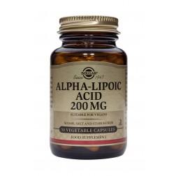 Solgar Alpha Lipoic Acid 200mg: 50 Vegicaps