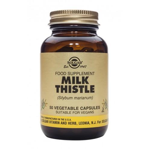 Solgar Milk Thistle: 50 Vegicaps