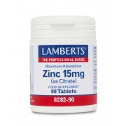 Lamberts  Zinc 15mg  (as Citrate) 90 Tabs
