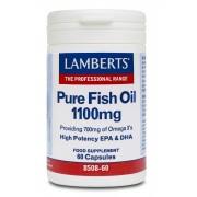 Lamberts Pure Fish Oil 1100mg 60 Caps