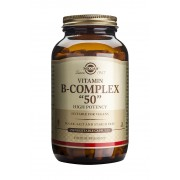"Solgar Formula Vitamin B-Complex ""50"" : 250 Vegetable Capsules"