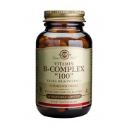 "Solgar Formula Vitamin B-Complex ""100"" : 50 Vegetable Capsules"