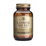 Solgar L-Lysine 500mg: 50 Capsules