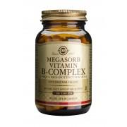 Solgar Megasorb Vitamin B Complex: 100 Tablets