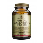 Solgar Fish Oil Concentrate 1000mg: 60 Softgels