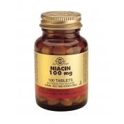 Solgar Niacin (Vitamin B3) 100mg: 100 Tablets