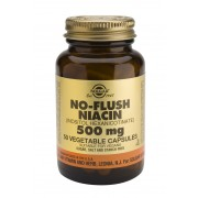 Solgar No-Flush Niacin (Inositol Hexanicotinate) 500mg Vegicaps: 50