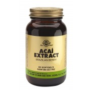 Solgar Acai Extract (Brazilian Berry) - 60 softgels