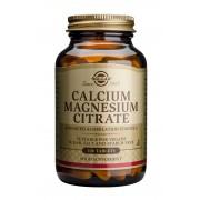 Solgar Calcium Magnesium Citrate: 100 Tablets