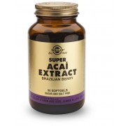Solgar Super Acai Extract 150mg - 50 softgel capsules