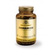 Solgar Cinnamon - 100 Vegetable Capsules