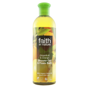 Faith In Nature Grapefruit & Orange Shower Gel & Foam Bath 400ml