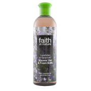 Faith In Nature Lavender & Geranium Shower Gel & Foam Bath 400ml